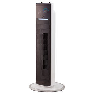 KHF-1280/W コイズミ 【扇風機】DCモーター搭載 タワーファン(リモコン付 ホワイト) KOIZUMI ホット&クール プレミアムタワーファン