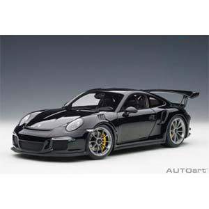 1/18 ポルシェ 911(991)GT3 RS (ブラック)【78164】 オートアート