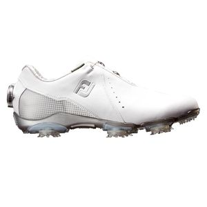 99068W24 フットジョイ レディース・ゴルフシューズ (ホワイト+シルバー・24.0cm) DRYJOYS Boa #99068