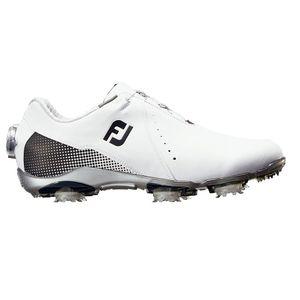 99071W245 フットジョイ レディース・ゴルフシューズ (ホワイト+ブラック・24.5cm) DRYJOYS Boa #99071