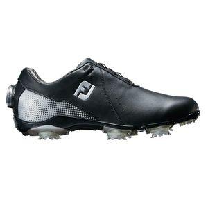 99072W245 フットジョイ レディース・ゴルフシューズ (ブラック+シルバー・24.5cm) DRYJOYS Boa #99072