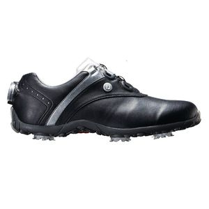 97186W235 フットジョイ レディース・ゴルフシューズ (ブラック+シルバー・23.5cm) LoPro SPORTS SPIKE Boa #97186
