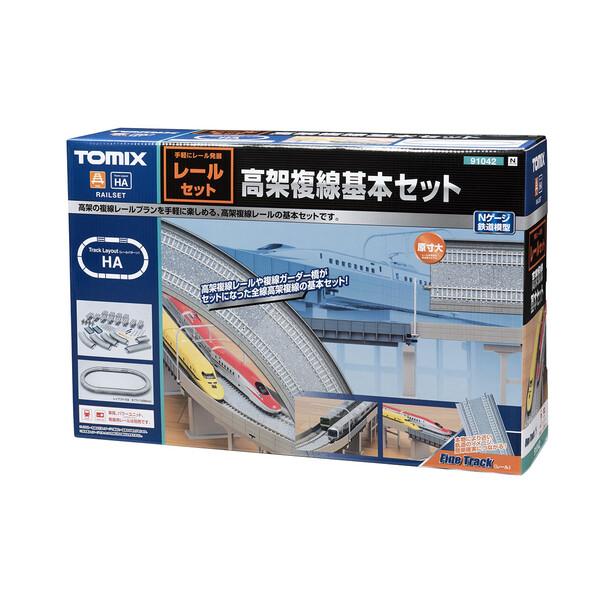 [鉄道模型]トミックス (Nゲージ) 91042 高架複線基本セット(レールパターンHA)