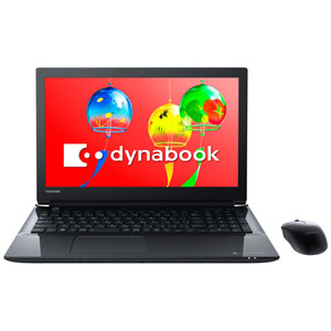 PT75GBP-BEA2 Dynabook 15.6型 ノートパソコン dynabook T75/G プレシャスブラック dynabook 2018年 夏モデル(Core i7/メモリ 8GB/HDD 1TB/Office H&B)