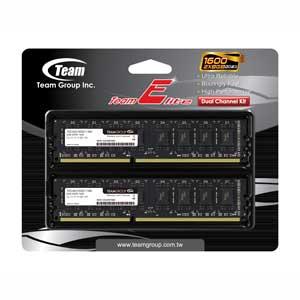 TED316G1600C11DC Team PC3-12800(DDR3-1600) 240pin DIMM 16GB(8GB×2枚)