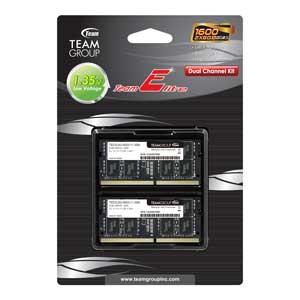 TSD3L16G1600C11DC Team PC3L-12800(DDR3L-1600)204pin S.O.DIMM 16GB(8GB×2枚)