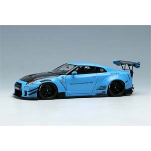 1/43 LB WORKS GT-R Type 2 2017 パールライトブルー【LB006D】 メイクアップ