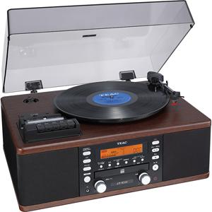 LP-R520 ティアック ターンテーブル/カセットプレーヤー付CDレコーダー TEAC