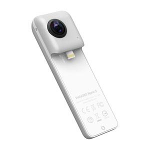【500円クーポン10/11am1:59迄】CINNANS/B Shenzhen Arashi Vision Insta360 Nano S (シルバー)