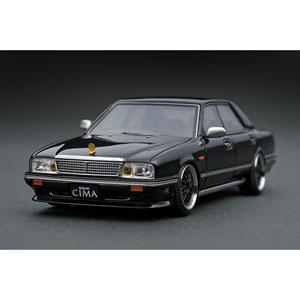 1/43 Nissan Gloria Cima (Y31) Black【IG1088】 ignitionモデル