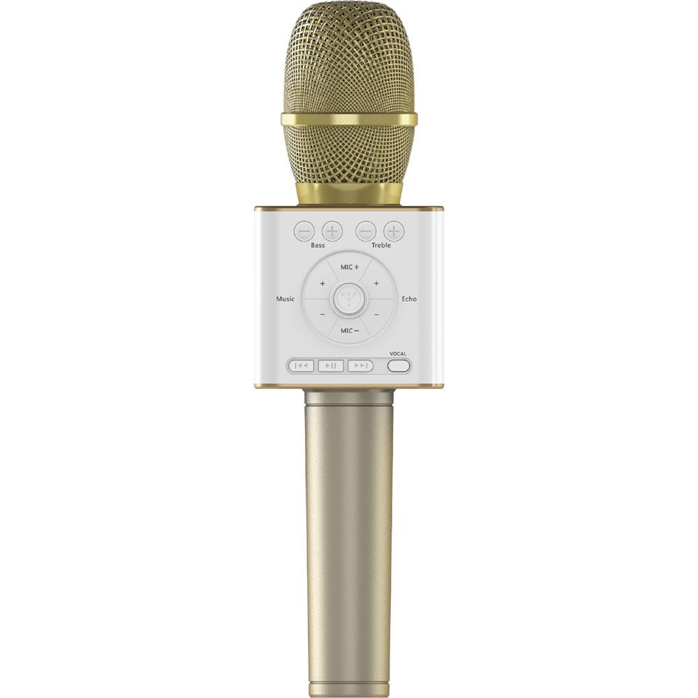 GP-BTDMIC/G ゴッパ Bluetoothカラオケマイク(ゴールド) GOPPA