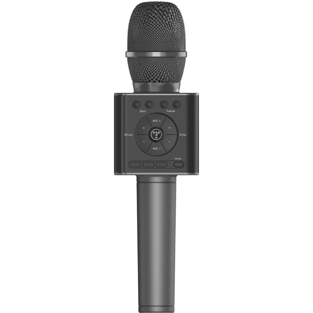 GP-BTDMIC/B ゴッパ Bluetoothカラオケマイク(グラファイトブラック) GOPPA