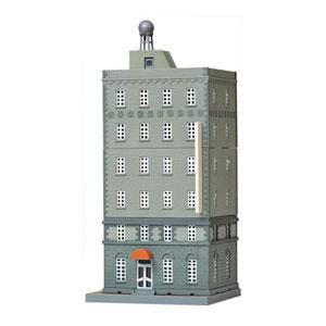 いつでも送料無料 奉呈 鉄道模型 トミーテック N 昭和のビルC2 建コレ063-2