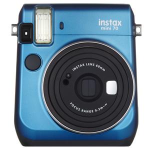INSMINI70Nブル- 富士フイルム instax mini70N チェキ(ブルー)
