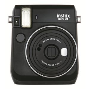 INSMINI70Nブラツク 富士フイルム instax mini70N チェキ(ブラック)
