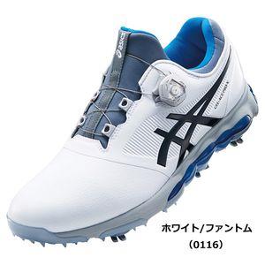 TGN922 0116WHPH 27.5 アシックス メンズ・ソフトスパイク・ゴルフシューズ (ホワイト/ファントム・27.5cm) asics GEL-ACE PRO X Boa