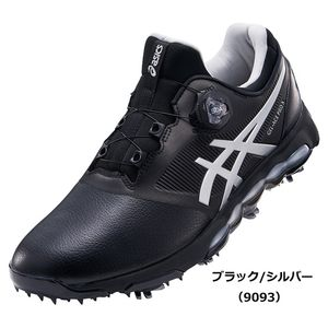 TGN922 9093BKSL 25.0 アシックス メンズ・ソフトスパイク・ゴルフシューズ (ブラック/シルバー・25.0cm) asics GEL-ACE PRO X Boa