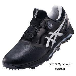 TGN922 9093BKSL 28.5 アシックス メンズ・ソフトスパイク・ゴルフシューズ (ブラック/シルバー・28.5cm) asics GEL-ACE PRO X Boa