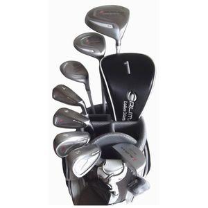 ORM-200 WH ゴルフプレミアム オリマー レディースハーフセット 8本セット キャディバッグ付(ホワイト) orlimar ウッド、アイアン(カーボンシャフト)フレックス:L