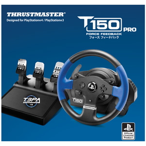 【PS4/PS3】T150 PRO Force Feedback Racing Wheel for PlayStation 4/PlayStation 3 MSY [4160706 T150PROForceFeedback]
