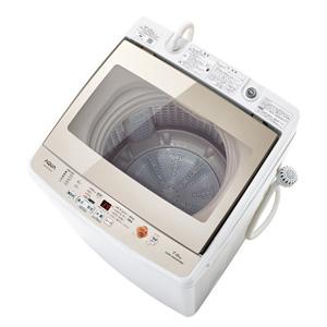 (標準設置料込)AQW-GV70G-W アクア 7.0kg 全自動洗濯機 ホワイト AQUA