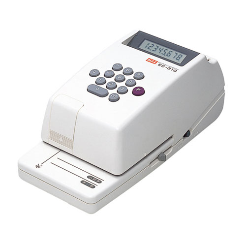 EC-310 マックス 電子チェックライタ 8桁 MAX