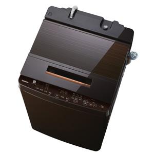 (標準設置料込)AW-12XD7-T 東芝 12.0kg 全自動洗濯機 グレインブラウン TOSHIBA ZABOON