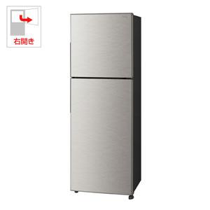 (標準設置料込)SJ-D23D-S シャープ 225L 2ドア冷蔵庫(シルバー系)【右開き】 SHARP