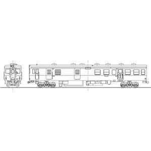 [鉄道模型]ワールド工芸 (HO) 16番 国鉄 キハユニ26 気動車 組立キット