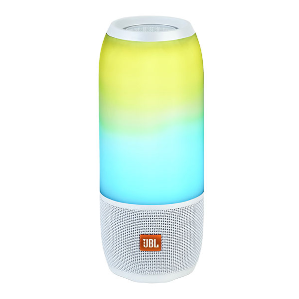 JBLPULSE3WHTJN JBL 防水Bluetoothスピーカー(ホワイト) JBL PULSE 3