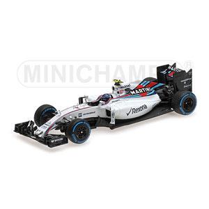 1/43 ウィリアムズ マルティニ レーシング メルセデス FW38 ブラジルGP 2016【417160177】 ミニチャンプス
