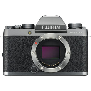 FX-T100DS 富士フイルム ミラーレスデジタルカメラ「X-T100」ボディ(ダークシルバー)