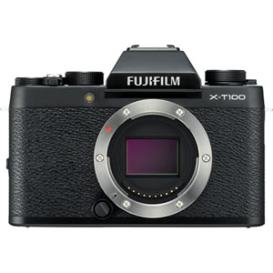 FX-T100B 富士フイルム ミラーレスデジタルカメラ「X-T100」ボディ(ブラック)