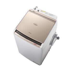 (標準設置料込)BW-DV80C-N 日立 8.0kg 洗濯乾燥機 シャンパン HITACHI ビートウォッシュ