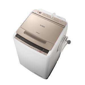 (標準設置料込)BW-V90C-N 日立 9.0kg 全自動洗濯機 シャンパン HITACHI ビートウォッシュ
