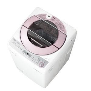 (標準設置料込)ES-GV7C-P シャープ 7.0kg 全自動洗濯機 ピンク系 SHARP