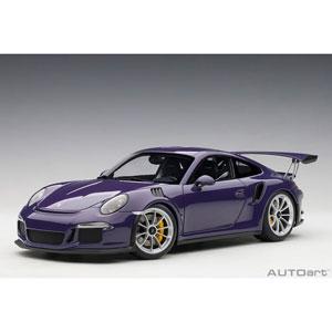 1/18 ポルシェ 911 (991) GT3 RS(バイオレット)【78169】 オートアート