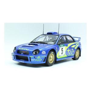 1/18 インプレッサS7 555 WRC #5 2001 NZウィナー【TOP037B】 TOPMARQUES