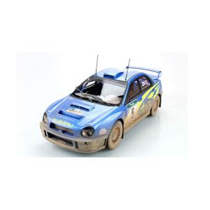 1/18 インプレッサS7 555 WRC #5 2001 NZウィナー ウェザリング仕様【TOP037BD】 TOPMARQUES