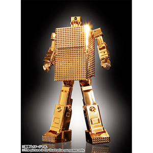 超合金魂 GX-32G24 ゴールドライタン 24金メッキ仕上げ(黄金戦士ゴールドライタン) バンダイ [GX-32Rゴールドライタン24キン]【返品種別B】