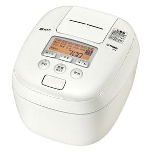 JPC-B182-WM タイガー 圧力IH炊飯ジャー(1升炊き) ミルキーホワイト TIGER 炊きたて
