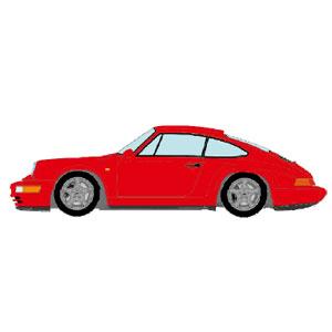 1/43 Porsche 911(964) Carrera RS 1992 ガーズレッド【VM122F】 メイクアップ