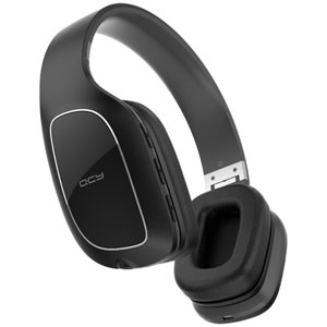 QCY-QCY30BK QCY Bluetooth対応密閉型ヘッドホン(ブラック) QCY
