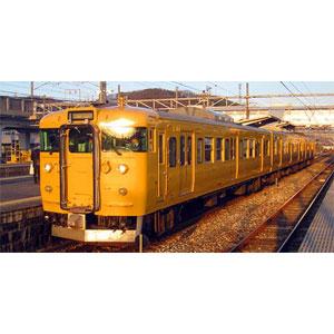 [鉄道模型]グリーンマックス (Nゲージ) 30770 JR115系1000番台(30N体質改善車・岡山D編成・中国地域色)3両編成セット(動力付き)