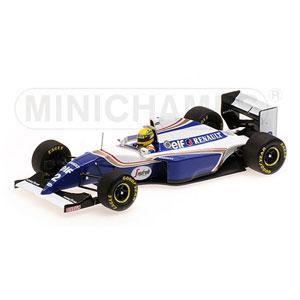 1/43 ウィリアムズ ルノー FW16 A .セナ ブラジルGP 1994 セナ・コレクション【547940102】 ミニチャンプス