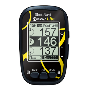 NEO2L-Y ショットナビ GPSゴルフナビ NEO2 Lite テクタイト ShotNavi(海外非対応・音声ナビ非搭載)