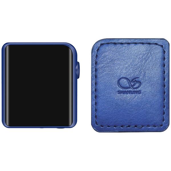 M0 BL set シャンリン ハイレゾ・ポータブルミュージックプレーヤー(ブルー)512GB外部メモリ対応 専用ケース同梱版 SHANLING M0