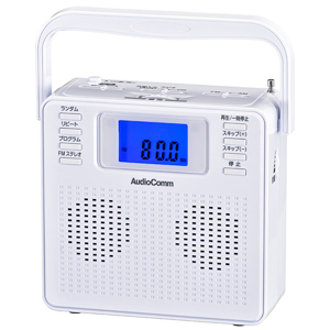 <title>RCR-500Z-W 限定タイムセール オーム CDラジオ ホワイト AudioComm OHM</title>