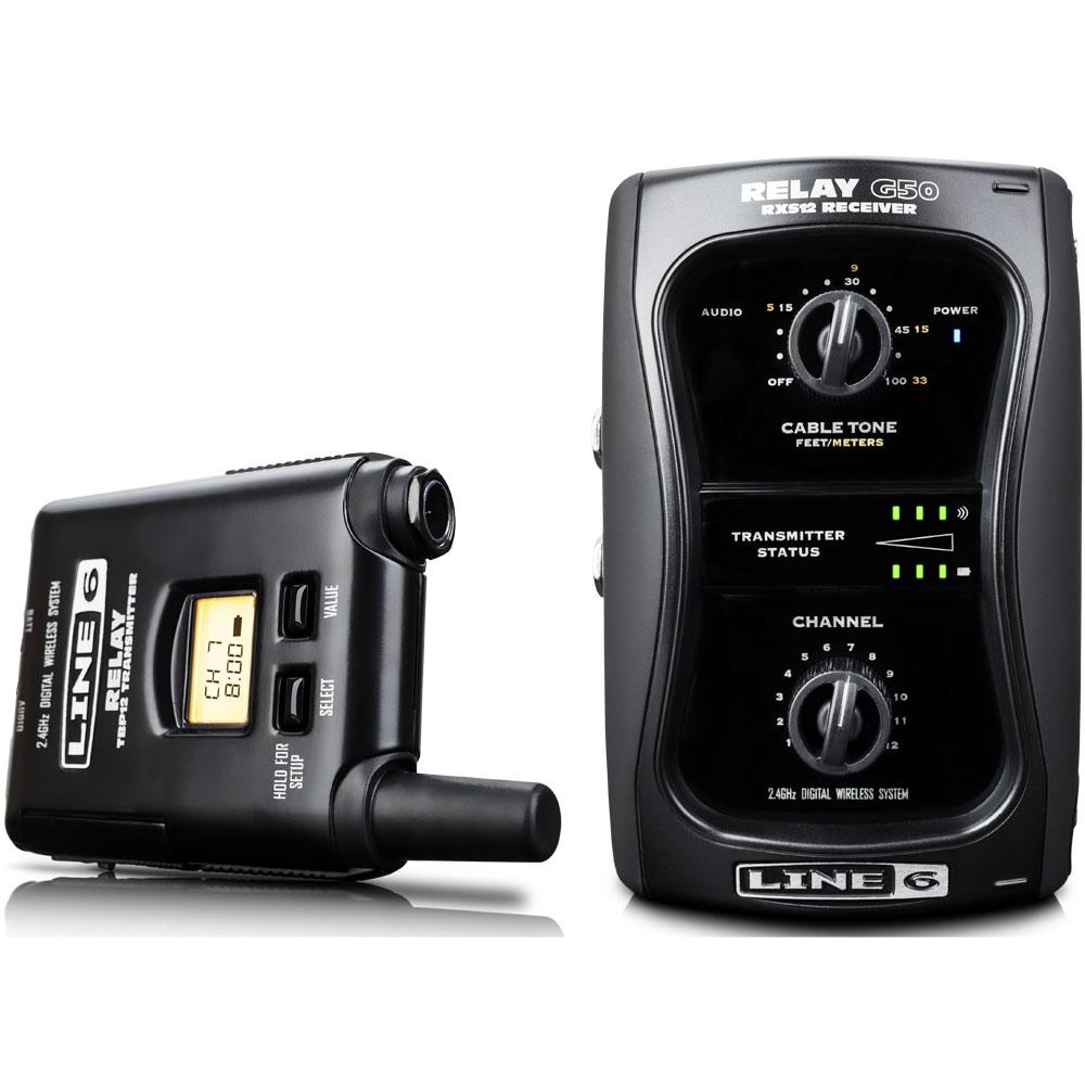 RELAY-G50 ラインシックス デジタル・ギターワイヤレス・システム LINE6 [RELAYG50]【返品種別A】