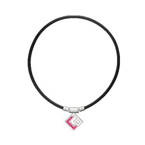 ABAPH02L コラントッテ コラントッテ TAO ネックレス AURA(ブラック/レッドラメ・サイズ:L 適応目安:47cm) Colantotte